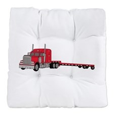 Flatbed Truck Tufted Chair Cushion