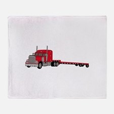 Flatbed Truck Throw Blanket