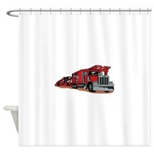 Car Hauler Shower Curtain