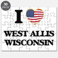 I love West Allis Wisconsin Puzzle