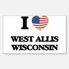 I love West Allis Wisconsin Decal