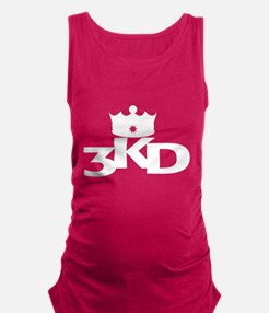 3 Kings Day White Maternity Tank Top