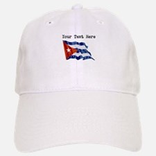 Cuba Flag (Distressed) Baseball Baseball Baseball Cap