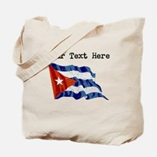 Cuba Flag (Distressed) Tote Bag