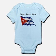Cuba Flag (Distressed) Body Suit