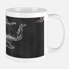 chalkboard tea pot swirls Mugs