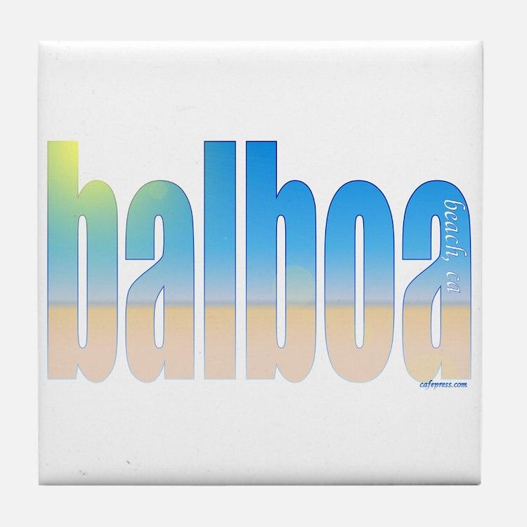 Cute Balboa Tile Coaster