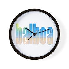 Cute Balboa Wall Clock