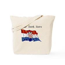 Croatia Flag (Distressed) Tote Bag
