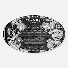 vintage chic botanical leav Decal