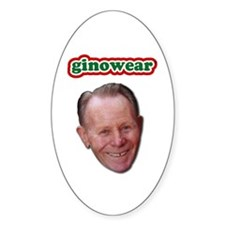 Ginowear Oval Decal