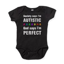 Society says i'm autistic...God says i'm perfect B
