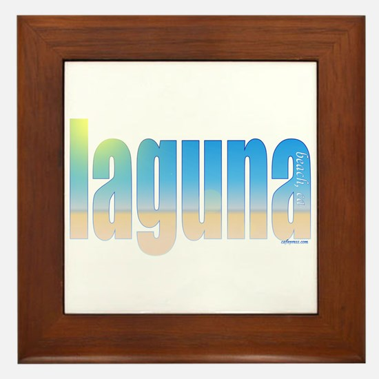 Unique Ca Framed Tile