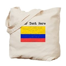 Colombia Flag (Distressed) Tote Bag