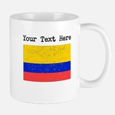 Colombia Flag (Distressed) Mugs