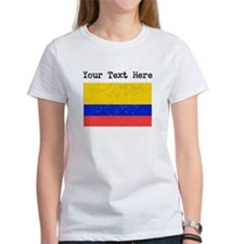 Colombia Flag (Distressed) T-Shirt