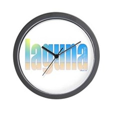 Cute Laguna beach Wall Clock