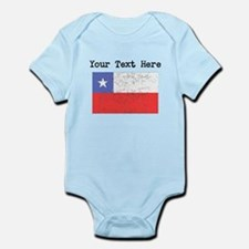 Chile Flag (Distressed) Body Suit