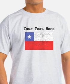 Chile Flag (Distressed) T-Shirt