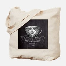 french chic teacup Tote Bag