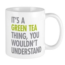 Green Tea Thing Mugs