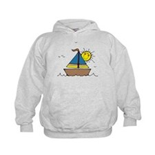 Sunny Sailboat Hoodie