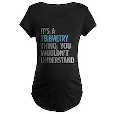Telemetry Thing Maternity T-Shirt