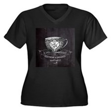 french chic teacup Plus Size T-Shirt