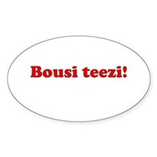 Bousi Teezi Oval Decal