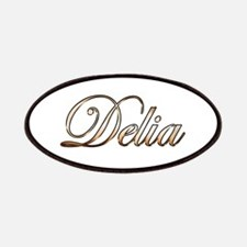 Gold Delia Patch