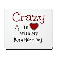 Barn Hunt Dog Mousepad