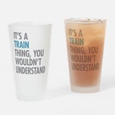 Train Thing Drinking Glass