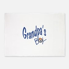 Grandpas Boy 5'x7'Area Rug