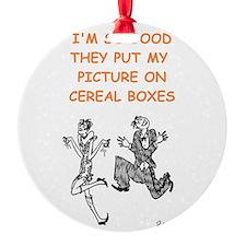 jitterbug dancing Ornament