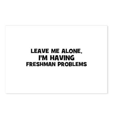 Leave Me Alone, I'm Having fr Postcards (Package o