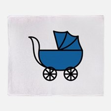 Carriage Throw Blanket