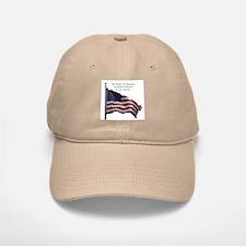 Pledge Of Allegiance Baseball Baseball Cap