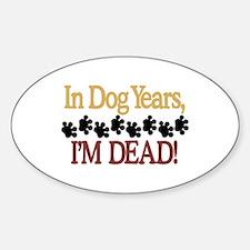 Dog Years Decal
