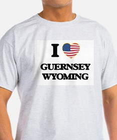 I love Guernsey Wyoming T-Shirt