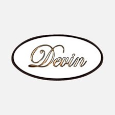 Gold Devin Patch
