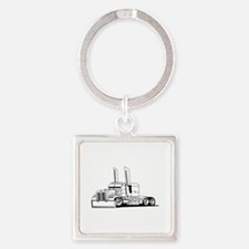 Truck Outline Keychains
