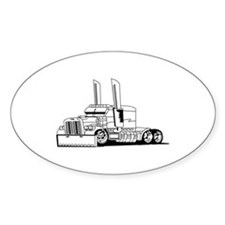 Truck Outline Decal