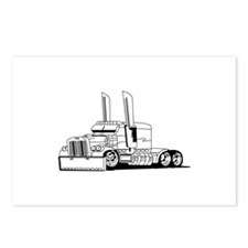 Truck Outline Postcards (Package of 8)
