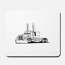 Truck Outline Mousepad