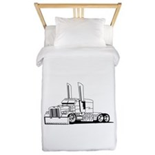 Truck Outline Twin Duvet