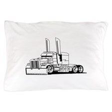 Truck Outline Pillow Case
