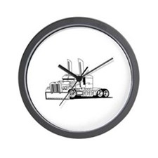 Truck Outline Wall Clock