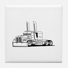 Truck Outline Tile Coaster
