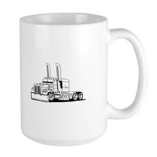 Truck Outline Mugs
