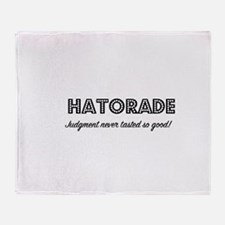 Hatorade Throw Blanket